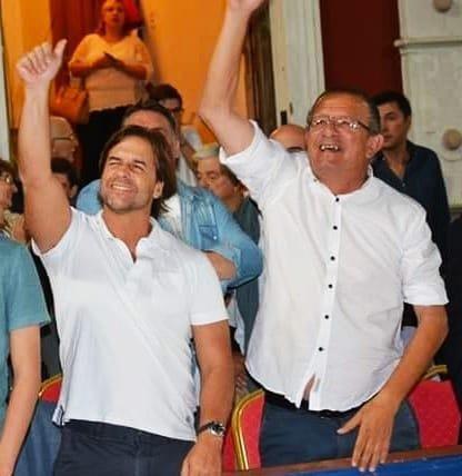 EL PRESIDENTE ELECTO LACALLE POU RESPALDÓ A CARAM TRAS DENUNCIAS DE LA JUTEP.