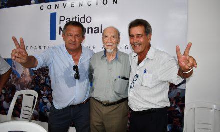EL PARTIDO NACIONAL ELIGIÓ A SUS CANDIDATOS A INTENDENTE A TRAVÉS DE LA CONVENCIÓN REALIZADA ESTE SÁBADO,
