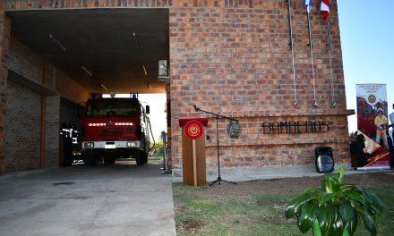 SUEÑO CUMPLIDO:   SE INAUGURÓ DESTACAMENTO DE BOMBEROS MODELO, EN TOMÁS GOMENSORO.
