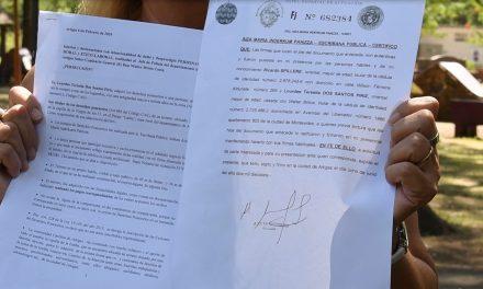 ESPOSA DEL JEFE DE POLICÍA SALIÓ AL CRUCE DE LAS DENUNCIAS QUE RECAEN SOBRE EL JERARCA DEL MINISTERIO DEL INTERIOR.