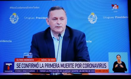 ÚLTIIMO MOMENTO: PRIMER FALLECIDO POR CORONAVIRUS.