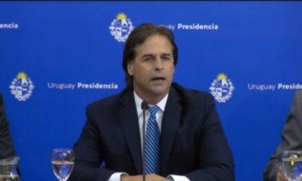 PRESIDENTE LACALLE POU ANUNCIÓ QUE HAY 29 CASOS DE CORONAVIRUS EN URUGUAY.