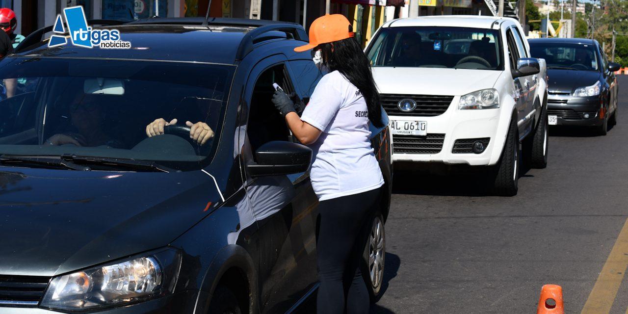 QUARAI:  SE REALIZAN CONTROLES SANITARIOS EN TRES PUNTOS DE LA CIUDAD.