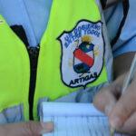 INSPECTORES DE TRÁNSITO SON AGREDIDOS DURANTE OPERATIVOS.
