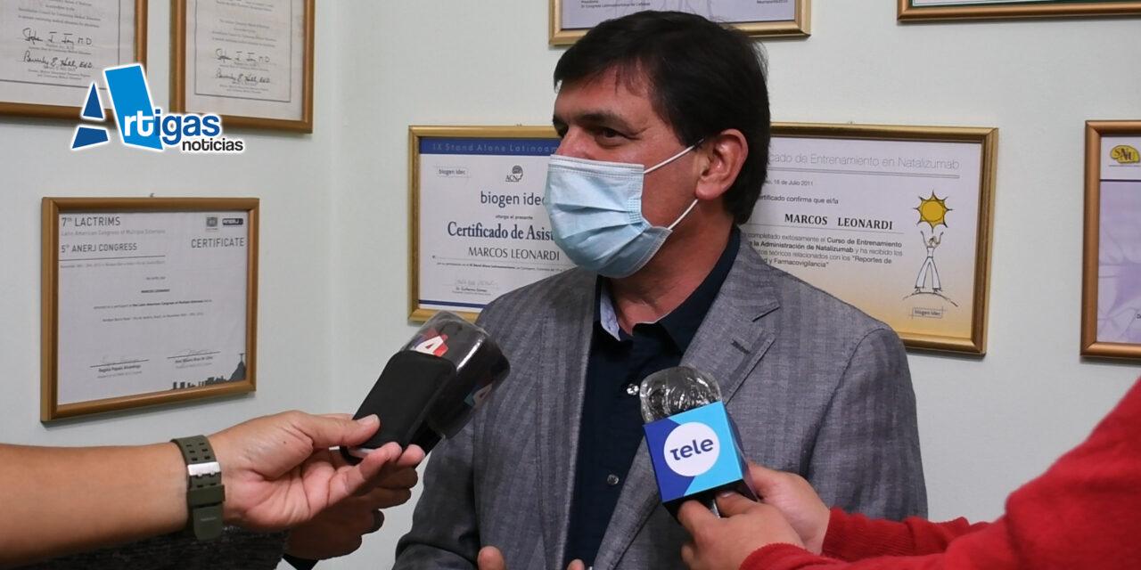VEINTE PERSONAS FUERON HISOPADAS EN BELLA UNIÓN LUEGO DEL PRIMER CASO POSITIVO.