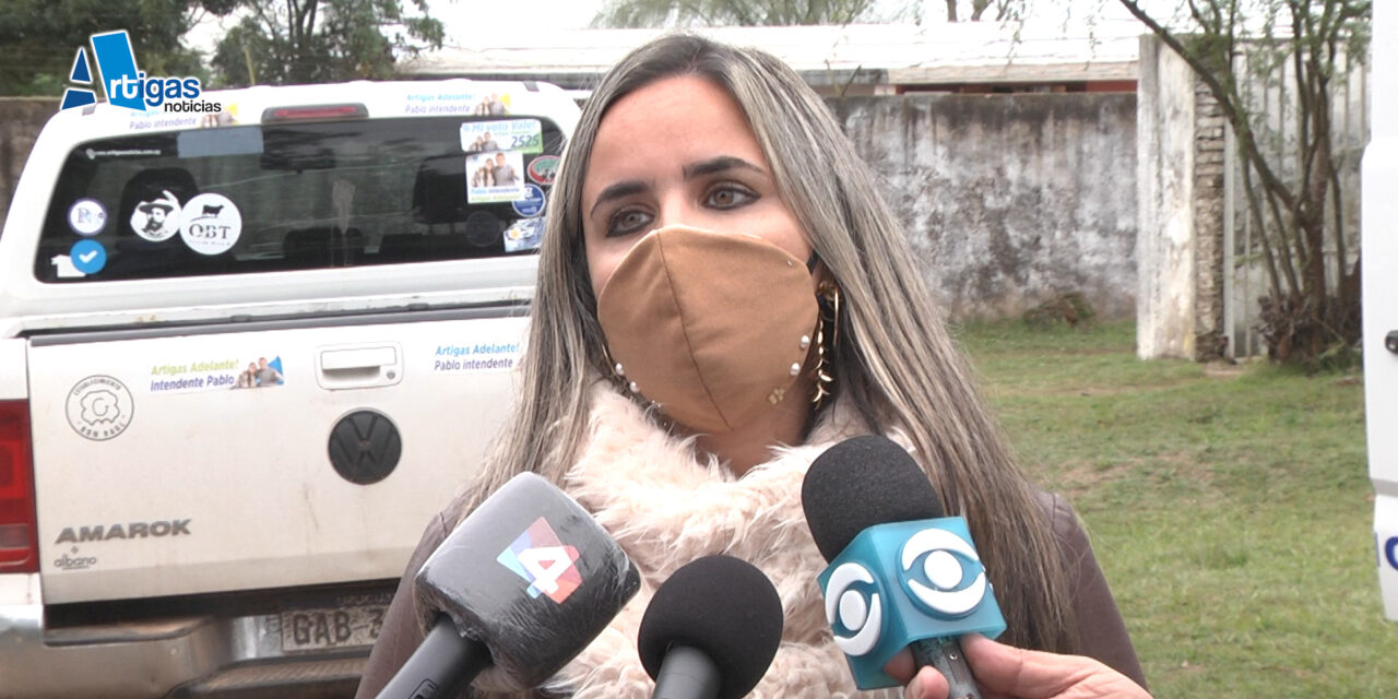 DIPUTADA PREOCUPADA POR LA SITUACIÓN DE LA FRONTERA ANTE INCAUTACIÓN DE MERCADERÍAS.