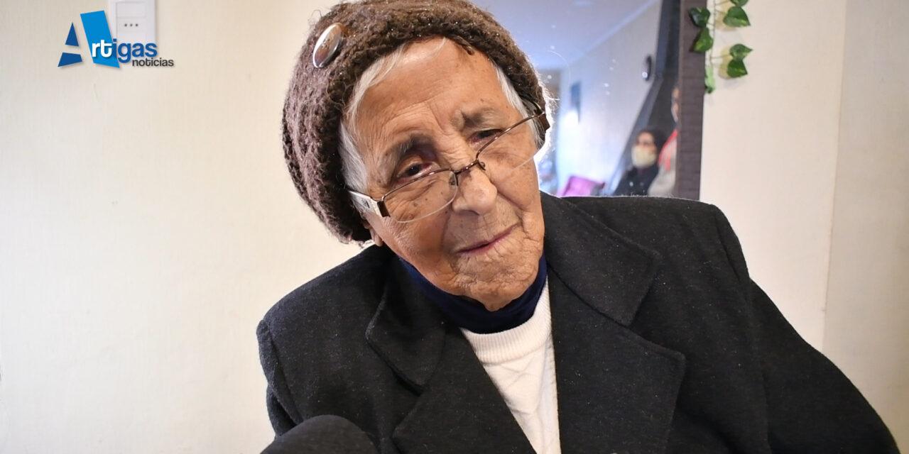 «ROSITA CUMPLIÓ 100 AÑOS.  «ERA MUY BAILARINA»