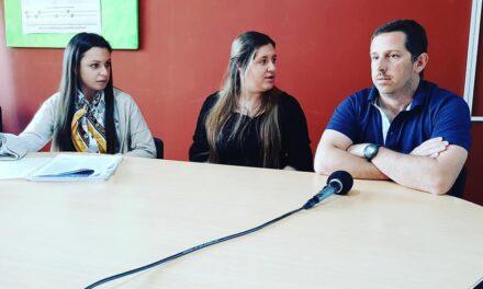 Directora de Mides junto a referentes de Inda e Inmayores presentaron actividades audiovisuales por el mes del Adulto Mayor y de la Alimentación.