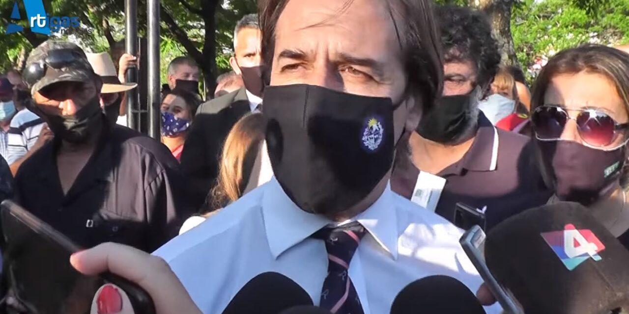 EL PRESIDENTE ESTUVO EN BELLA UNIÓN.