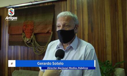 EL DIRECTOR DE LOS MEDIOS PÚBLICOS, GERARDO SOTELO APUESTA AL POTENCIAL DE ARTIGAS, DONDE EL «SECAN» QUIERE TRABAJAR FUERTEMENTE.