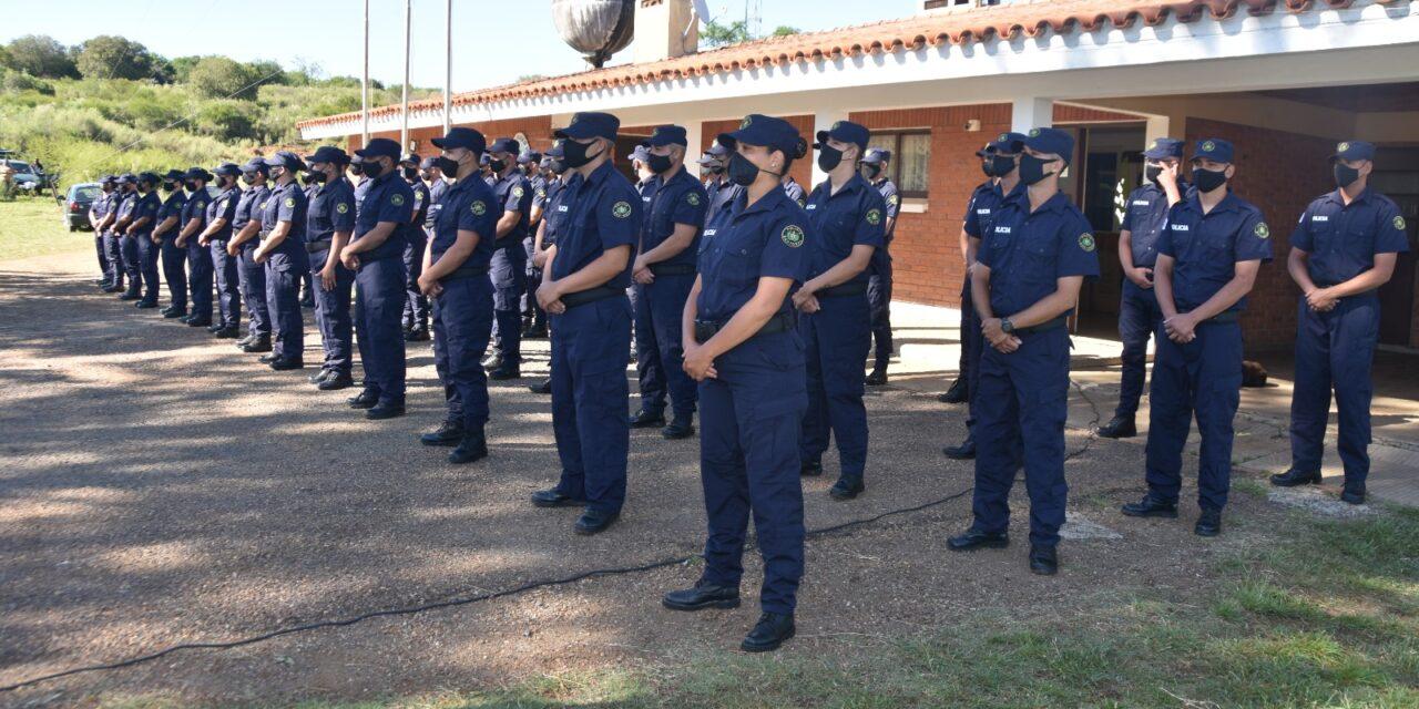 47 NUEVOS POLICÍAS EGRESARON EN ESTA JORNADA / TANDA «CABO MARTÍN GARCÍA DA ROSA»