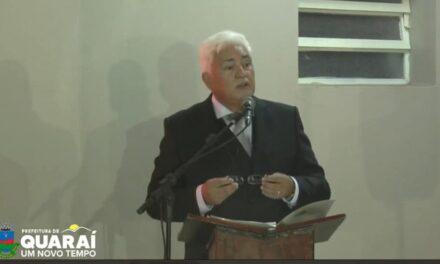 ASUMIÓ JEFERSON PIRES CÓMO PREFEITO DE QUARAI.