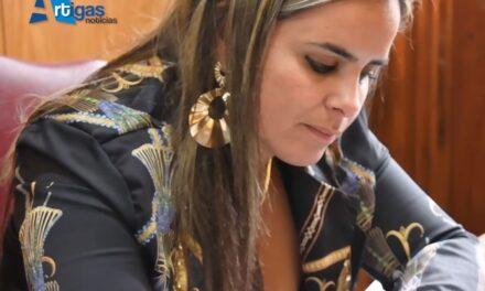 DIPUTADA DOS SANTOS DURANTE EL RECESO DE LA CÁMARA TRABAJA EN DIVERSOS PROYECTOS DESDE ARTIGAS.