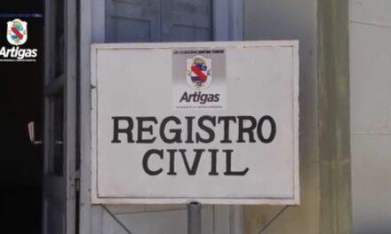 REGISTRO CIVIL DE ARTIGAS TRABAJA 100 % DE MANERA DIGITAL.