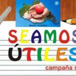 AGRUPACIÓN «MANOS TENDIDAS»LANZÓ CAMPAÑA DE ÚTILES