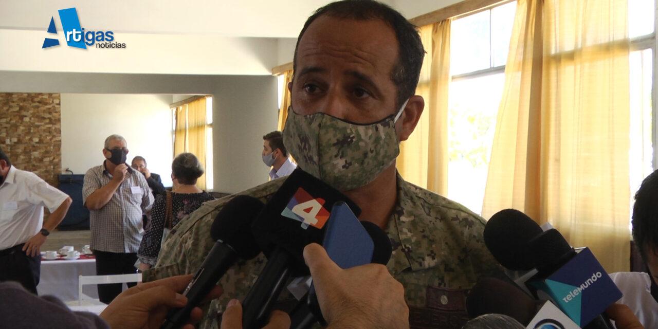 SIETE MILITARES TIENEN COVID POSITIVO EN EL REGIMIENTO GUAYABOS.