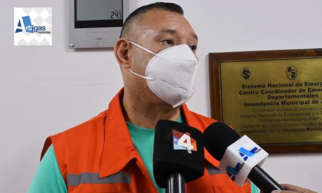 FAMILIA VENEZOLANA POSITIVA DE COVID ES ASISTIDA A TRAVÉS DEL CECOED POR MIDES E INTENDENCIA.