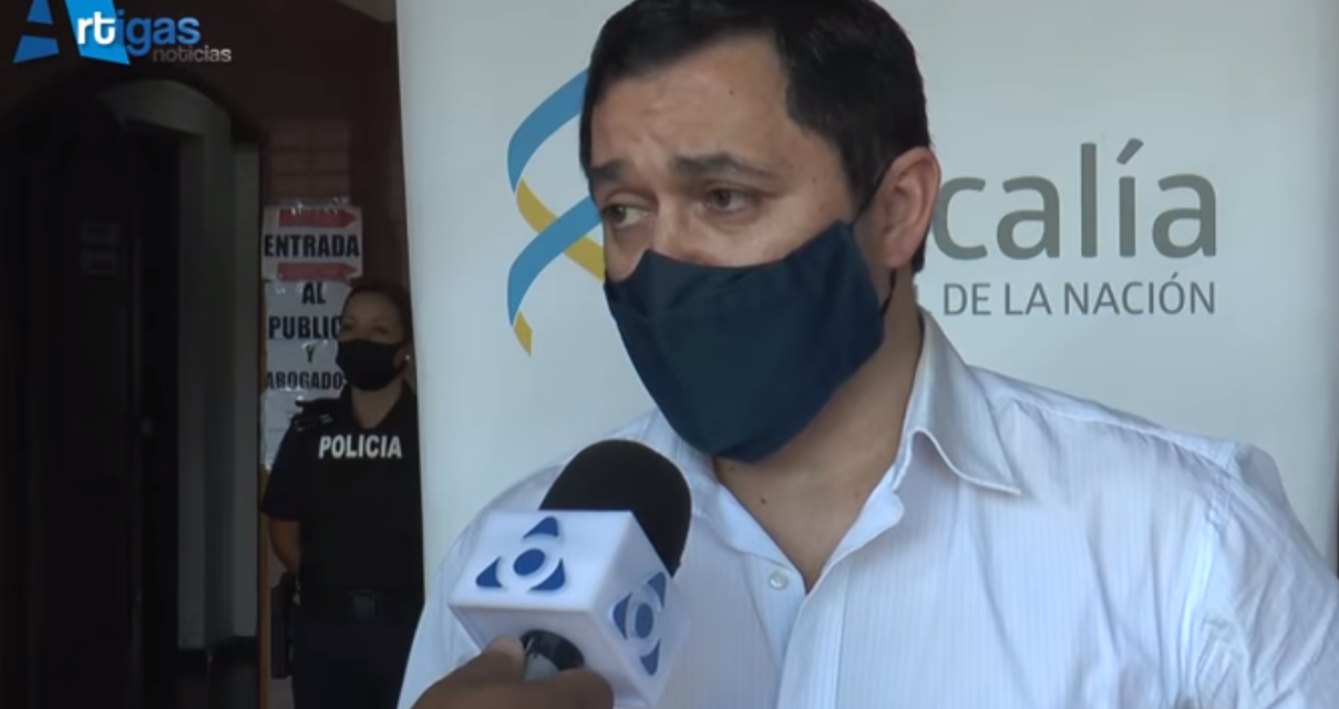 FISCAL HERMES ANTÚNEZ CONFIRMÓ QUE SE BUSCA A LA EX PAREJA DE LA MUJER DE 34 AÑOS QUE RECIBIÓ UN DISPARO EN LA CABEZA.