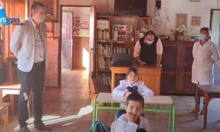 REGRESARON LAS CLASES EN LA RURALIDAD.