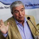 LUIS ALBERTO HEBER SERÁ EL NUEVO MINISTRO DEL INTERIOR.