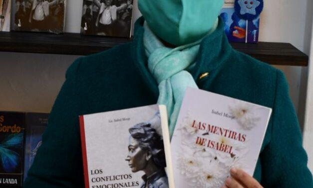 """UNA HISTORIA DE VIDA CINEMATOGRÁFICA. ISABEL MONJE LA ENFERMERA ARTIGUENSE QUE TRIUNFA EN ESPAÑA. """"HACE UNOS AÑOS TUVE UN SUEÑO Y VIAJE TRAS LA CRUZ DE CARAVACA A MURCIA""""."""