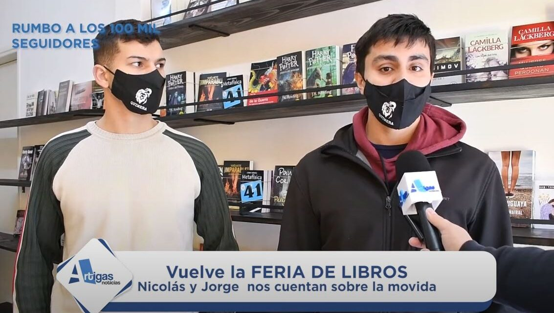 IMPERDIBLE: VUELVE LA FERIA DE LIBROS DE QUIMERA. «LIBROS A $ 50 Y MUCHOS GRATIS»