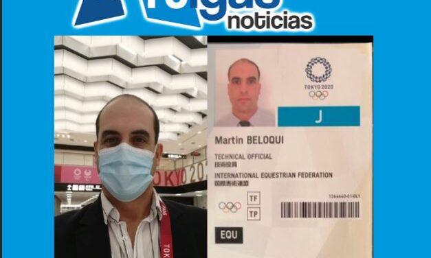 MARTIN BELOQUI EN LOS JUEGOS OLÍMPICOS DE TOKYO.