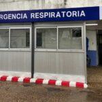NUEVA SALA DE ESPERA RESPIRATORIA EN EL HOSPITAL.