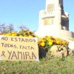 «NO ESTAMOS TODAS, FALTA YAMIRA» COLECTIVO FEMINISTA DE ARTIGAS REPUDIA UN NUEVO FEMICIDIO.