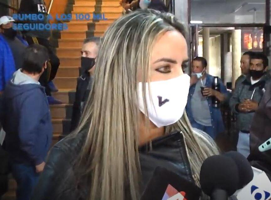DIPUTADA DOS SANTOS DESTACÓ LA VISITA DE ALVARO DELGADO.
